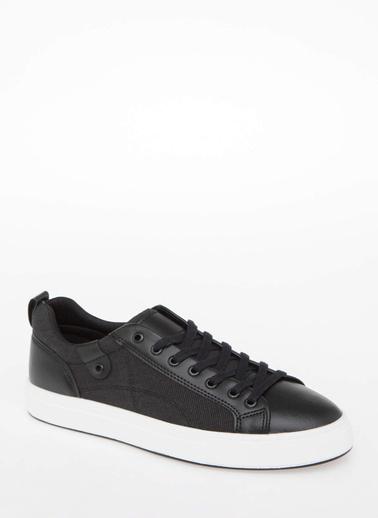 DeFacto Kalın Tabanlı Bağcıklı Sneaker Antrasit